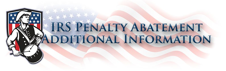 Irs Penalty Abatement Patriot Tax Professionals